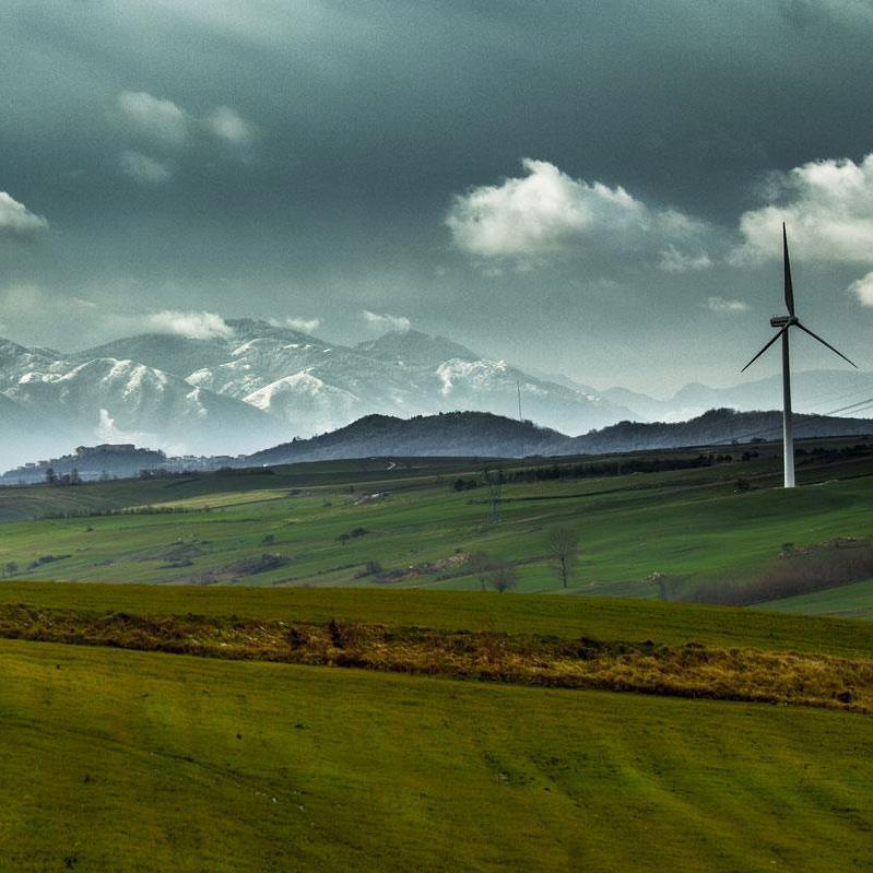 Paesaggio Campania - Autore Enzo Rea