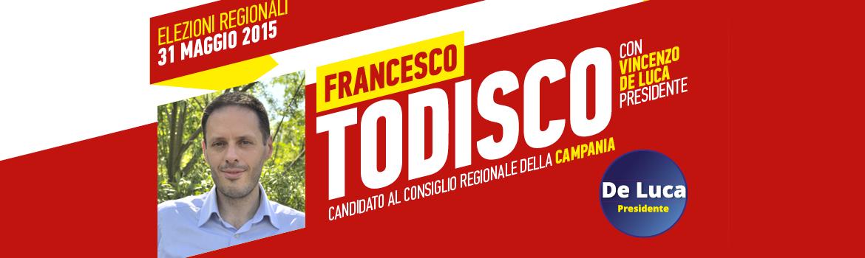 Francesco Todisco, candidato regione Campania